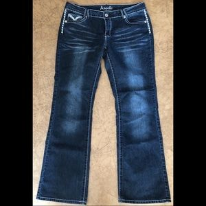 Angels Bootcut Jeans Size 15